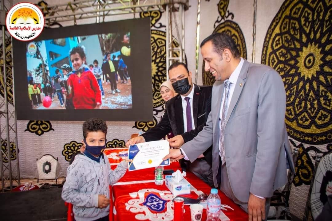 تكريم أبطالنا ممن شاركو بمسابقة كانجارو الدولية للعلوم الجزء 2